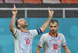 Goran Pandev ghi bàn lịch sử cho Bắc Macedonia tại EURO 2021