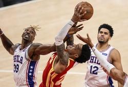 Nhận định NBA Playoffs: Atlanta Hawks vs Philadelphia 76ers (ngày 15/06, 6h30)