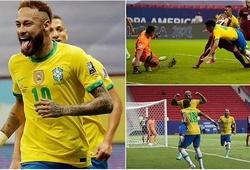 Neymar áp sát kỷ lục ghi bàn của Pele khi Brazil thắng đậm khai mạc Copa America