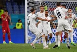 Lịch thi đấu bóng đá EURO 2021 hôm nay 16/6: Italia vs Thụy Sỹ