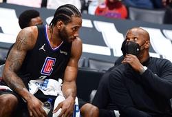 NÓNG: Kawhi Leonard chấn thương đầu gối, đối diện nguy cơ nghỉ toàn bộ series với Utah