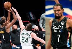 Kevin Durant làm nên lịch sử bằng trận đấu kinh điển, Brooklyn Nets ngược dòng ngoạn mục trước Milwaukee
