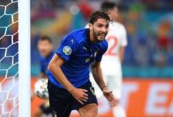 Xem lại bóng đá Italia vs Thụy Sỹ bảng A EURO 2021