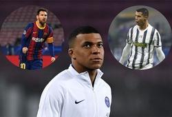 Mbappe có thể sánh ngang Ronaldo, nhưng Messi thì không!