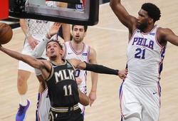 Nhận định NBA Playoffs: Philadelphia 76ers vs Atlanta Hawks (ngày 17/06, 6h30)