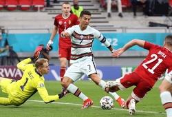 Ronaldo phá kỷ lục ghi bàn EURO bằng các bộ phận nào trên cơ thể?