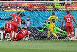 EURO 2021 gây bất ngờ về số lượng cầu thủ sút hỏng phạt đền