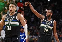 Bộ ba Giannis - Middleton - Holiday lên tiếng, Milwaukee Bucks ép Brooklyn Nets đến Game 7