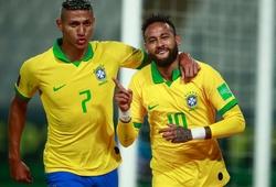 Neymar tiếp tục bỏ xa Messi sau màn tỏa sáng ở trận Brazil - Peru