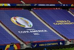 Sốc: Một nửa số đội tuyển tại Copa Ameria 2021 có ca mắc COVID-19