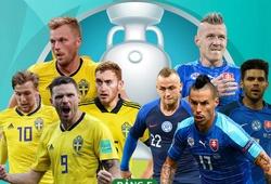 Đội hình ra sân Thụy Điển vs Slovakia: Forsberg so tài Hamsik