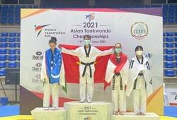 Trương Thị Kim Tuyền giành HCV giải Vô địch Taekwondo Châu Á