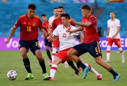 Cục diện bảng E của EURO 2021: Tây Ban Nha có nguy cơ bị loại