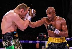 Huyền thoại MMA Anderson Silva đánh bại cựu vô địch WBC Julio Cesar Chavez ngày trở lại sàn Boxing