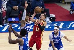 Nhận định NBA Playoffs: Philadelphia 76ers vs Atlanta Hawks (ngày 21/06, 7h00)