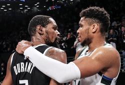 Từ chối 48 điểm của Durant, Giannis Antetokounmpo cùng Milwaukee Bucks trở lại chung kết miền