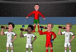 """Loạt ảnh chế sau trận Đức - Bồ Đào Nha: """"Đắng lòng"""" Ronaldo"""