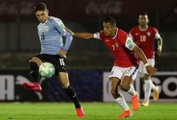 Kết quả Uruguay vs Chile, video bóng đá Copa America 2021