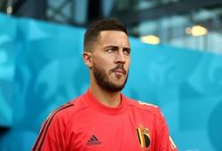Chưa ra sân ở EURO 2021 Eden Hazard lo sợ bản thân đã hết thời