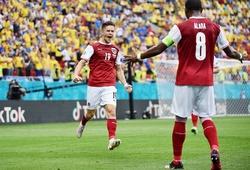 Kết quả Ukraine vs Áo: Baumgartner ghi bàn, Áo vào vòng 1/8
