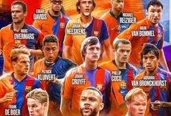 Lee Nguyễn từng sát cánh cùng bốn huyền thoại người Hà Lan khoác áo Barcelona