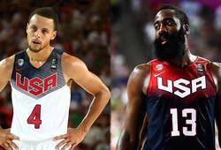 """James Harden và Stephen Curry """"ngược lối"""" trên đường đến tuyển Mỹ tại Olympic"""