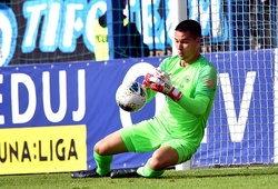 Thủ môn Filip Nguyễn bồi hồi ngày chia tay CLB Slovan Liberec