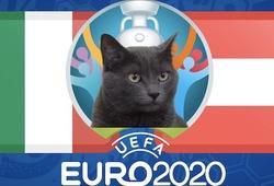Mèo tiên tri dự đoán bóng đá EURO hôm nay: Italia vs Áo