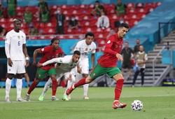 Ronaldo lập kỷ lục ghi bàn mới tại EURO và World Cup