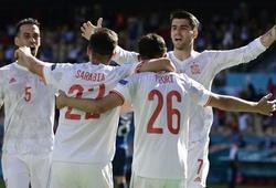Tây Ban Nha xác định đối thủ ở vòng 1/8 sau chiến thắng 5 sao