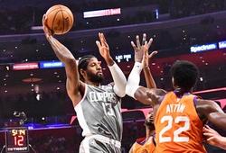 """Paul George lại bị """"ám"""" vì ném phạt, Phoenix Suns thắng Clippers nghẹt thở tại Game 4"""