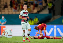 Bồ Đào Nha sút nhiều nhất EURO 2021 mà không ghi được bàn