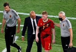 HLV ĐT Bỉ tiết lộ mức độ nghiêm trọng chấn thương của De Bruyne và Hazard