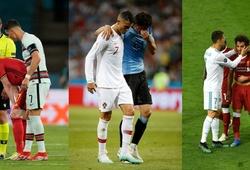 Cristiano Ronaldo lại có hành động đẹp với đối phương