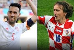 Đón xem Sergio Busquets đại chiến Luka Modric!