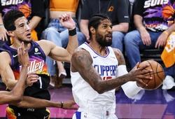 """Paul George bật chế độ """"Playoffs P"""", xuất sắc giành lại 1 chiến thắng cho LA Clippers"""