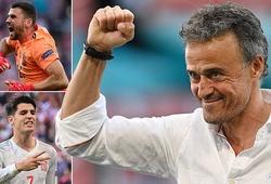 Hóa ra, Luis Enrique tin tưởng Morata và Simon là có lý!