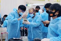 Tuyển Việt Nam hết cách ly, ông Park trở lại Hà Nội chờ đối thủ ở VL World Cup 2022