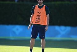 Giorgio Chiellini bình phục chấn thương, trở lại ở trận gặp Bỉ