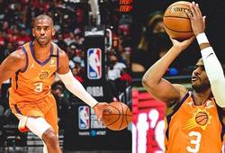 """Chris Paul ghi 41 điểm """"kết liễu"""" đội bóng cũ, Phoenix Suns thẳng tiến vào NBA Finals"""