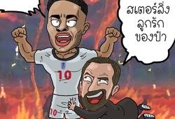 Ảnh chế EURO 2021: Sướng nhất là... Anh
