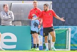 HLV Bỉ úp mở trước trận gặp Italia: De Bruyne hoặc Hazard sẽ ra sân?
