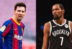 Kevin Durant và Isaiah Thomas bị sốc bởi mức lương của sao bóng đá Lionel Messi