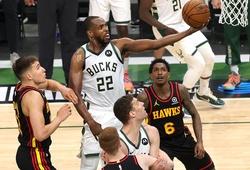 Không Giannis không thành vấn đề, Bucks nhẹ nhàng vượt qua Hawks tại Game 5