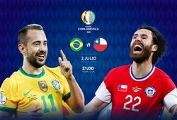 Kết quả Brazil vs Chile, bóng đá Copa America 2021