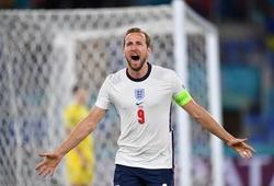Harry Kane ghi bàn nhanh nhất cho tuyển Anh tại EURO từ năm 2004