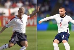 Luke Shaw áp sát kỷ lục của David Beckham tại EURO
