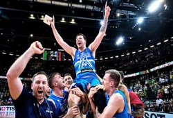 Từ NBA tới Olympic, Luka Doncic gánh vác hành trình lịch sử của Slovenia