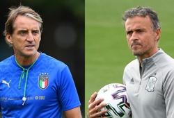 Tây Ban Nha vs Italia: Mancini và Luis Enrique cần làm gì nếu muốn đi tới trận chung kết?