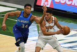 Nhận định NBA Finals G1: Phoenix Suns vs Milwaukee Bucks (ngày 07/07, 8h00)